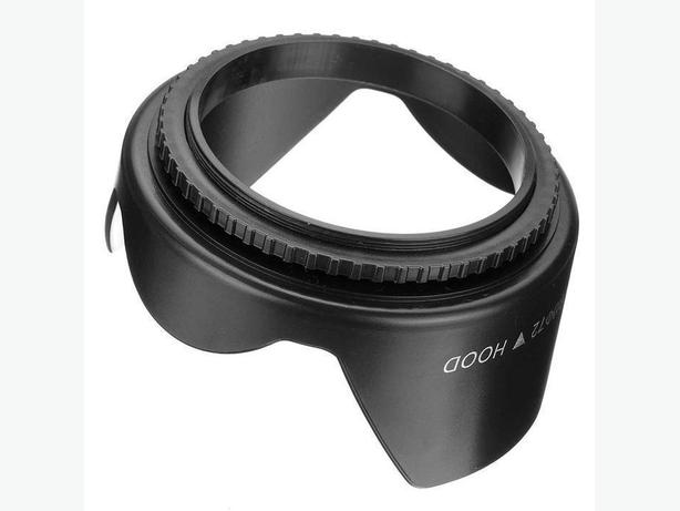 Spiral 72mm Lens Hood for Canon Nikon etc