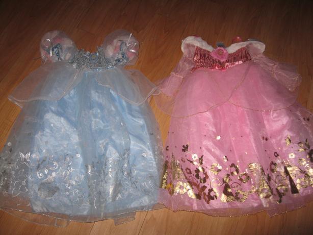 2 BEAUTIFUL Disney Dresses - Size 5/6