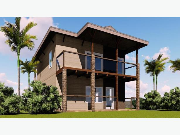 Traveler's Triplex house plans