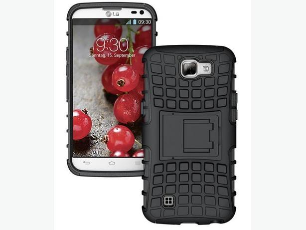 Rugged Armor Heavy Duty Hybrid Case for LG K4