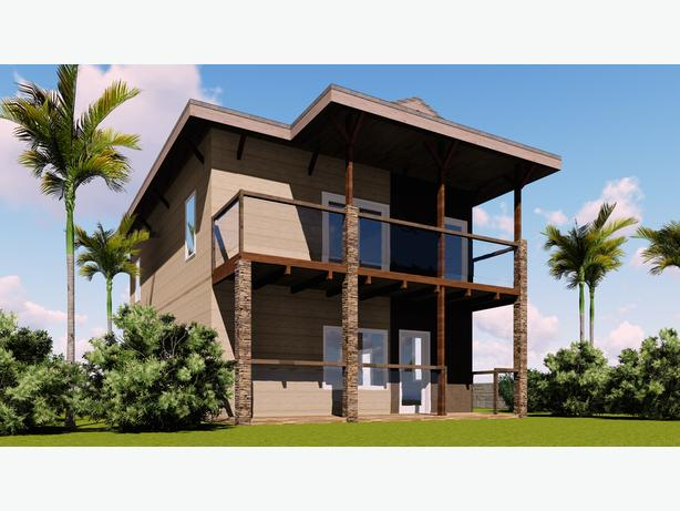Traveler's Triplex house plans