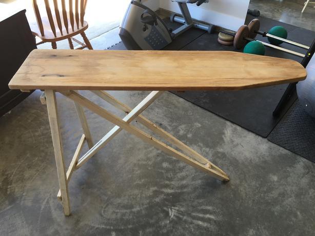 o.b.o. 1930's ironing board