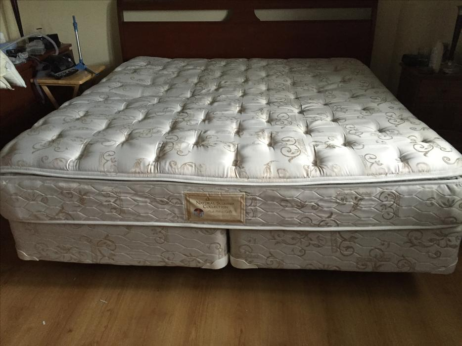king size mattress and box spring nepean ottawa mobile. Black Bedroom Furniture Sets. Home Design Ideas