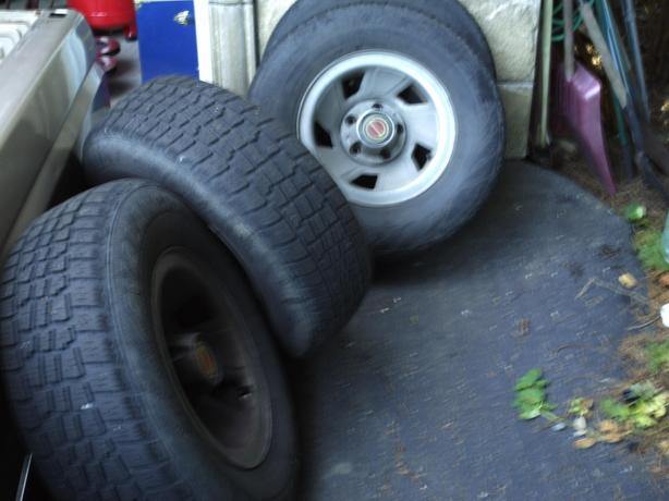 f150 steel rims and tires