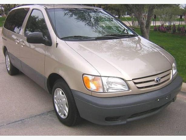 2002 toyota sienna ce plus 5 door 7 passenger mini van. Black Bedroom Furniture Sets. Home Design Ideas