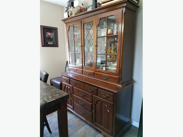 Display and drawer unit