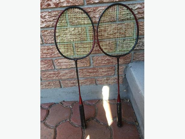 Pair of Eastern Badminton Racquets