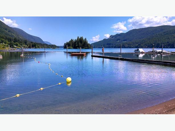 Lakefront RV Lot on Cowichan Lake