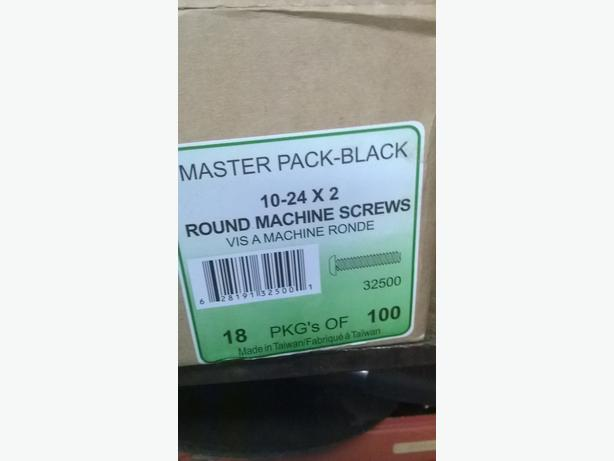round machine screws