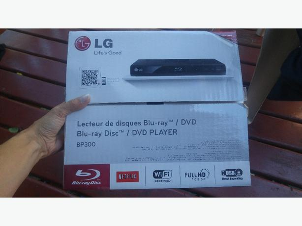 LG BP300 wifi enabled blueray/dvd player