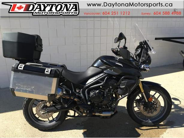 * SOLD * 2013 Triumph Tiger 800 ABS  * Ready to Adventure Tour! *