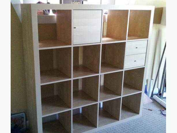ikea kallax 4x4 shelving unit esquimalt view royal victoria. Black Bedroom Furniture Sets. Home Design Ideas