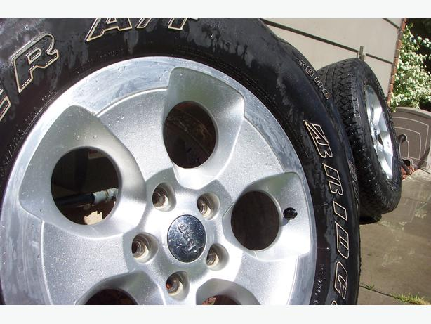 Jeep Wrangler Sahara Wheels & Tires