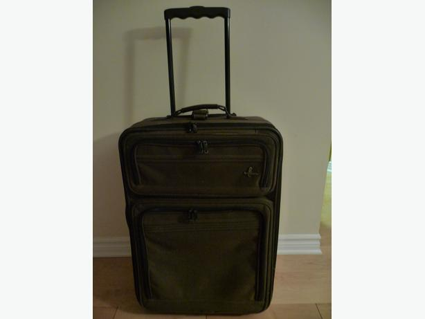 Suitcase, Garment carrier, Bugatti leather  bag