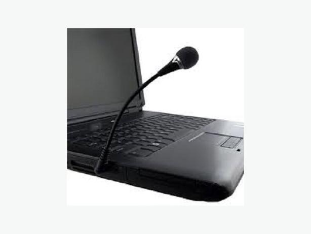 Flexible 3.5mm Mini Microphone MIC for PC Laptop/Notebook