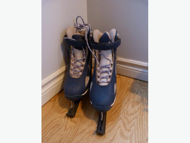 Girls Skates and Guards Size 7