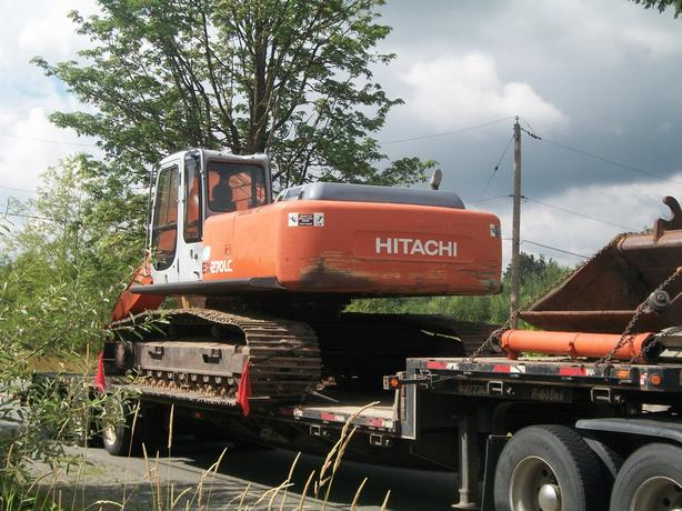 Hitachi EX270LC-5 Excavator Parts For Sale