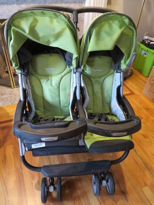 Peg Perego Stroller Replacement Spring : Peg perego aria twin double stroller shawnigan lake