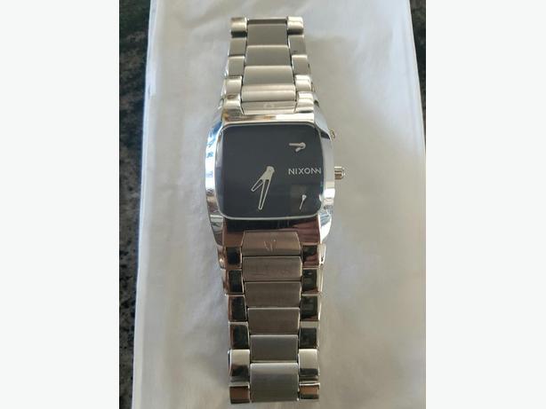 Nixon Banks Silver Watch