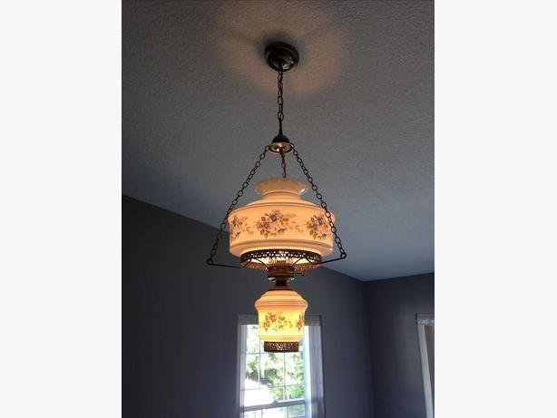antique ceiling light.