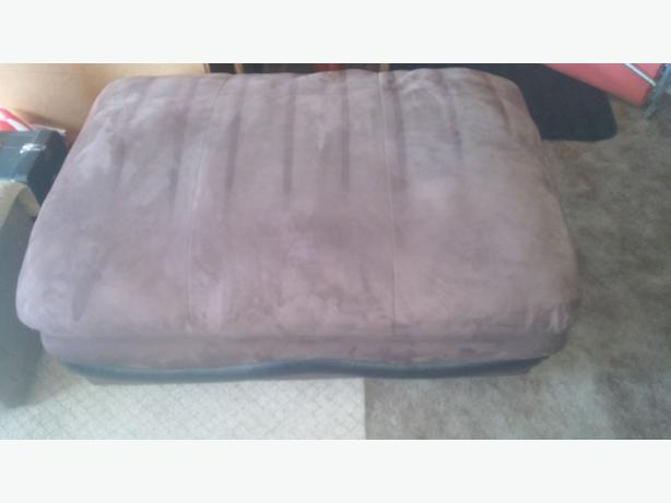 GREAT FOR TAKING OFF SHOES OR WATCHING T.V BROWN 2 PERSON  STOOL