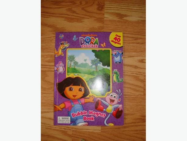 Like New Dora Magnet Book - $5