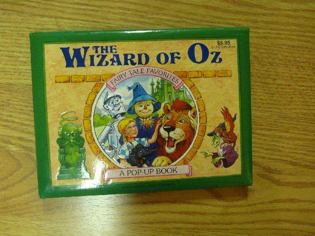 Like New Wizard of Oz Pop-up Book - $3