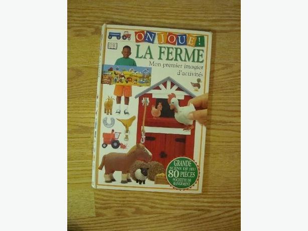 Like New On Joue La Ferme La Premiere imagier d'activités Book - $1