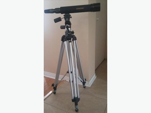 Manfrotto Tripod (Model 028) & Simmons Scope (Model 41201)