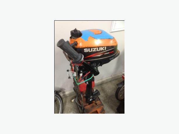 2 5 hp suzuki outboard saanich victoria for Suzuki 2 5 hp motor