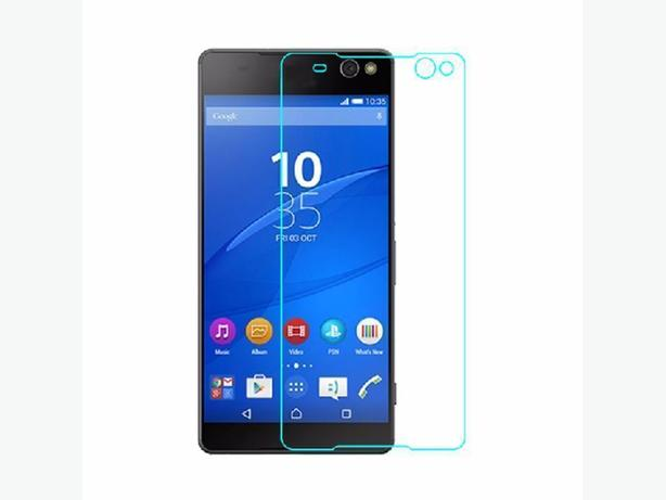 Tempered Glass Screen Protector Kit For Sony Xperia C5 Ultra