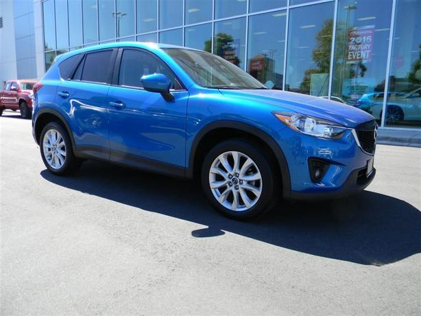 2013 Mazda CX-5 GT AWD NO ACCIDENTS LOCAL B.C.