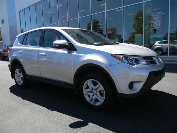 2015 Toyota Rav4 LE NO ACCIDENTS LOCAL B.C.