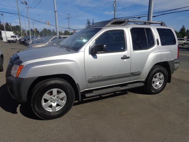 2007 nissan xterra 4x4 off road