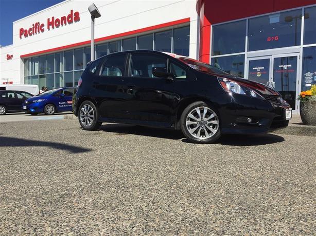 2014 Honda Fit Sport Cert - Zero icbc claims