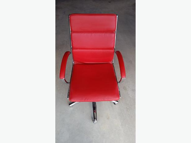 Red Leather Office Chair South Regina Regina