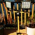 DUAL HEAD HALOGEN LIGHT STAND + MORE
