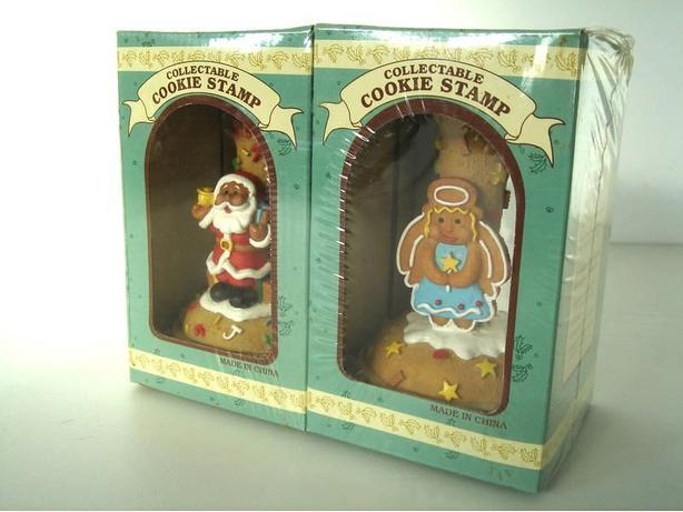 Collectable Ceramic Cookie Stamp (Set of 2)
