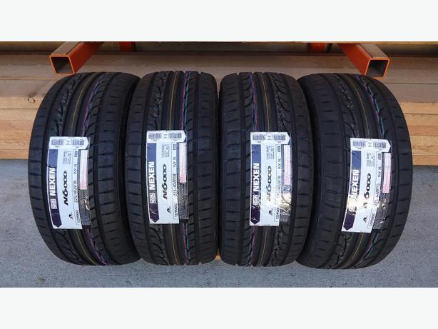 low profile nexen tires 225 40zr18 100 tread outside. Black Bedroom Furniture Sets. Home Design Ideas