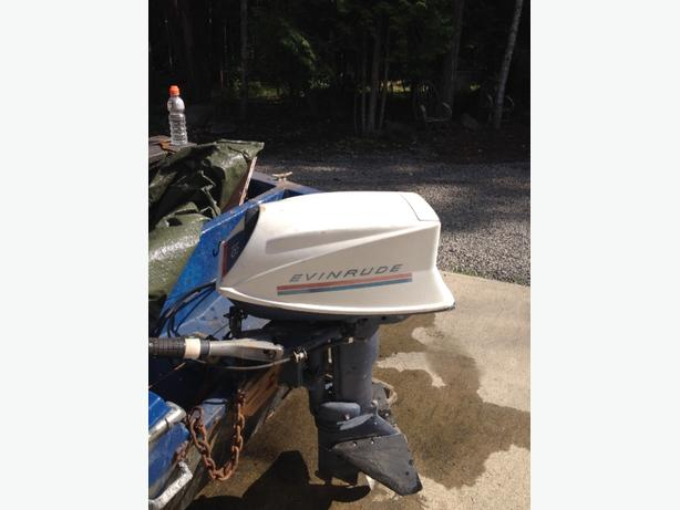 18 HP Evinrude outboard