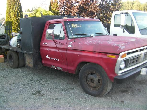 1977 ford one ton dually welding truck deck