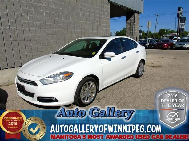 2013 Dodge Dart Ltd. *Lthr/Roof/Nav