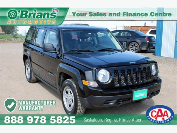2014 Jeep Patriot Sport/North - WARRANTY