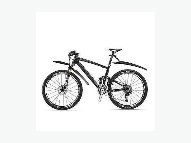 Bicycle Bike Front & Back Fenders Mudguards - Black