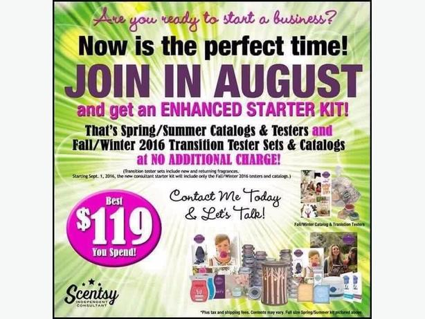Scentsy consultants needed!