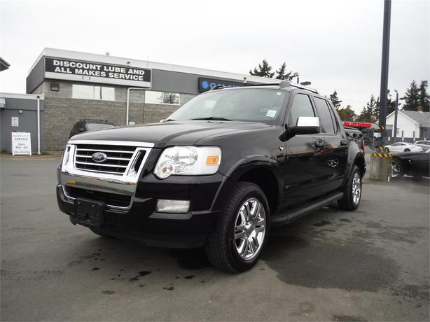 2008 ford explorer sport trac limited 4wd leather navigation courtenay courtenay comox. Black Bedroom Furniture Sets. Home Design Ideas