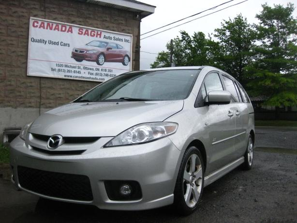 2007 Mazda5 GT (6 SEATERS) LOADED/ ROOF, 12M.WRTY+SAFETY $4500