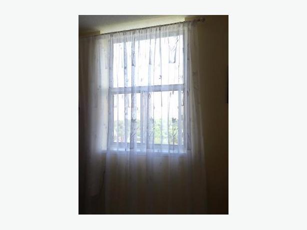 Sheer window curtain 3meter