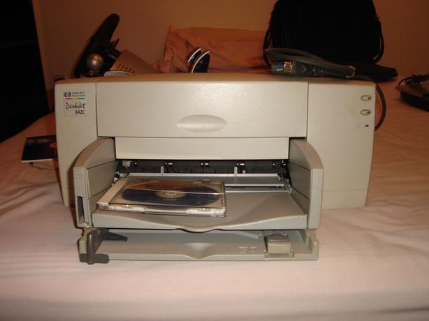 Hewlett Packard Deskjet 840C Series printer