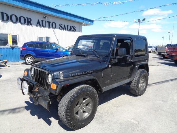 2005 Jeep TJ Rubicon #I5218 INDOOR AUTO SALES WINNIPEG